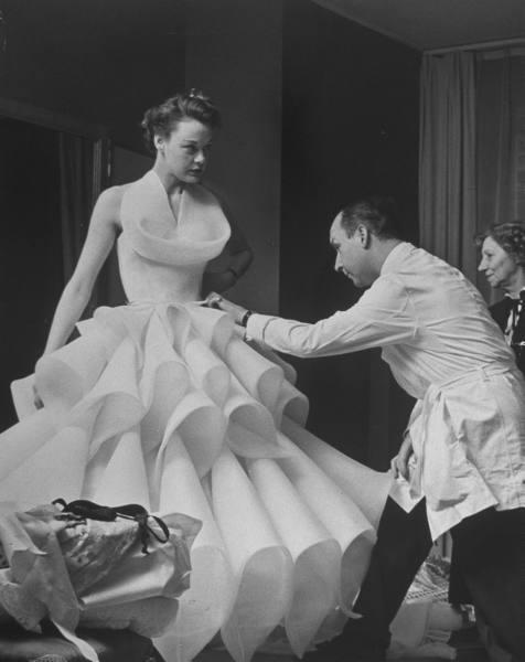 Paris Fashion Week Circa 1951