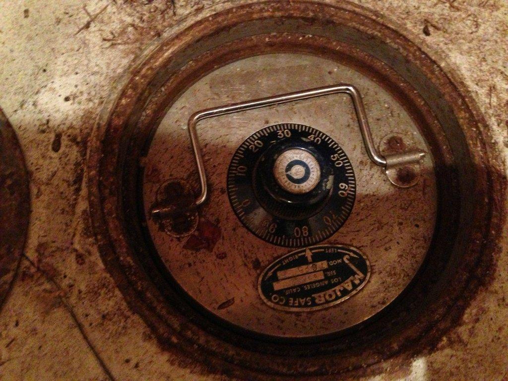 Secret Time Capsule Safe Found In A