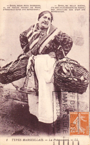 fisherwoman Marseille
